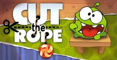 Cut the rope; Date un gran atracón de diversión