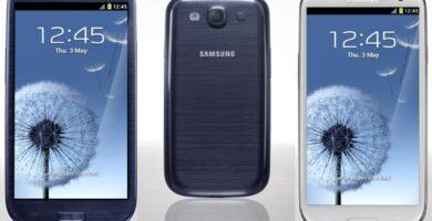 ¿Samsung galaxy S3?