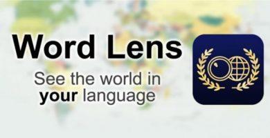 Word Lens Translator: Traduce tus anuncios físicos desde tu android.