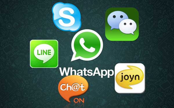 Alternativas de mensajeria aparte de descargar WhatsApp
