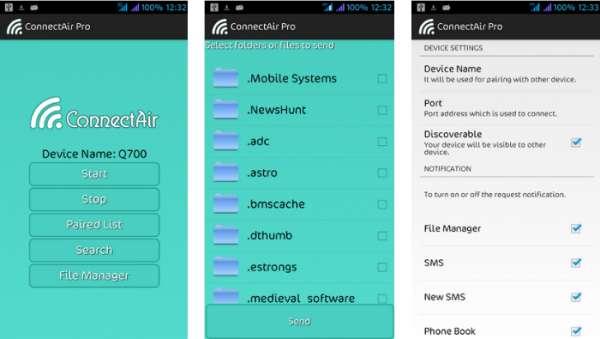 ConnectAir, una aplicación que conecta tu Android y PC por WiFi