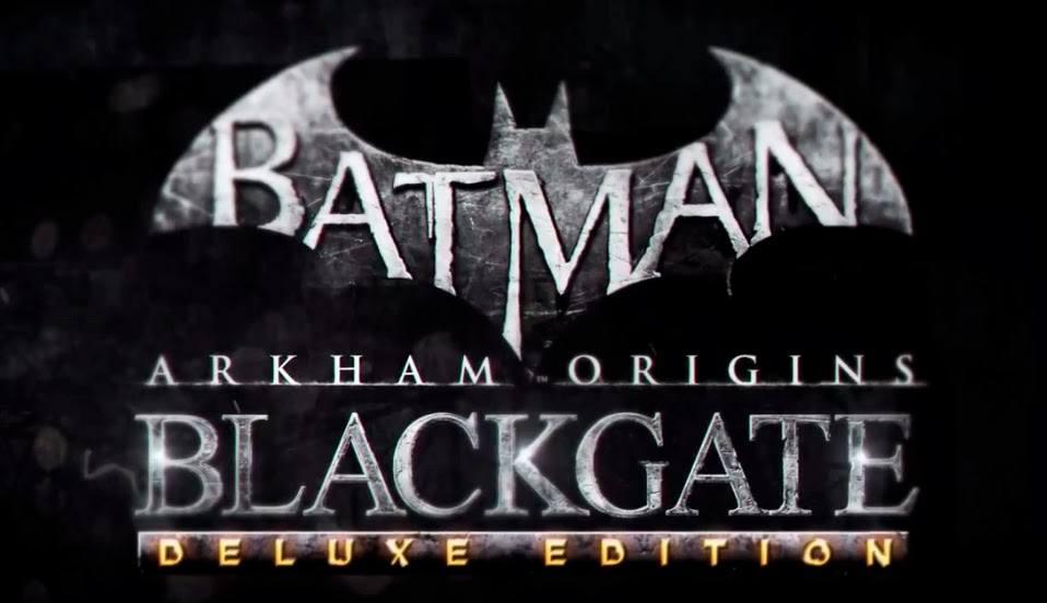 Lanzamiento de Batman Arkham Origins Blackgate Deluxe Edition
