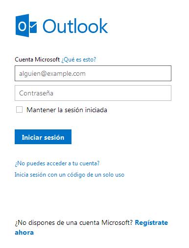 Outlook.com: iniciar sesión con un código de un solo uso en tu correo Hotmail