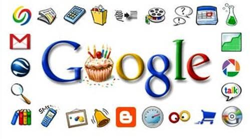 Principales servicios de Google