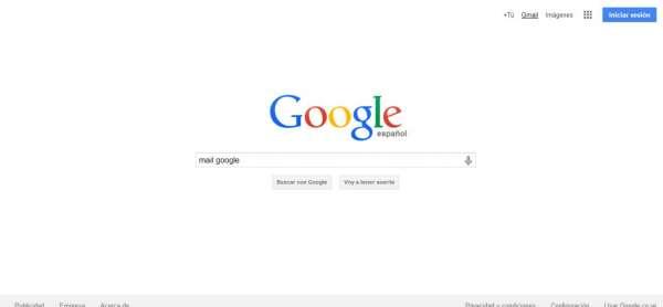 Registrarse e iniciar sesión en Gmail correo