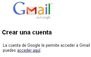 Registrarse en Gmail gratis