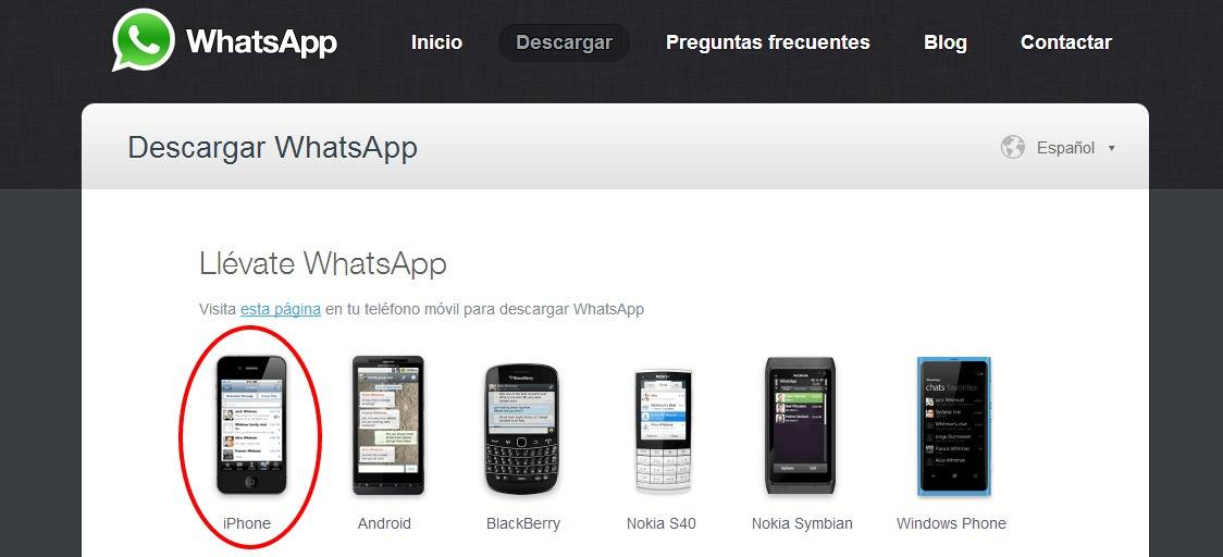 Descargar WhatsApp gratis para Windows Phone