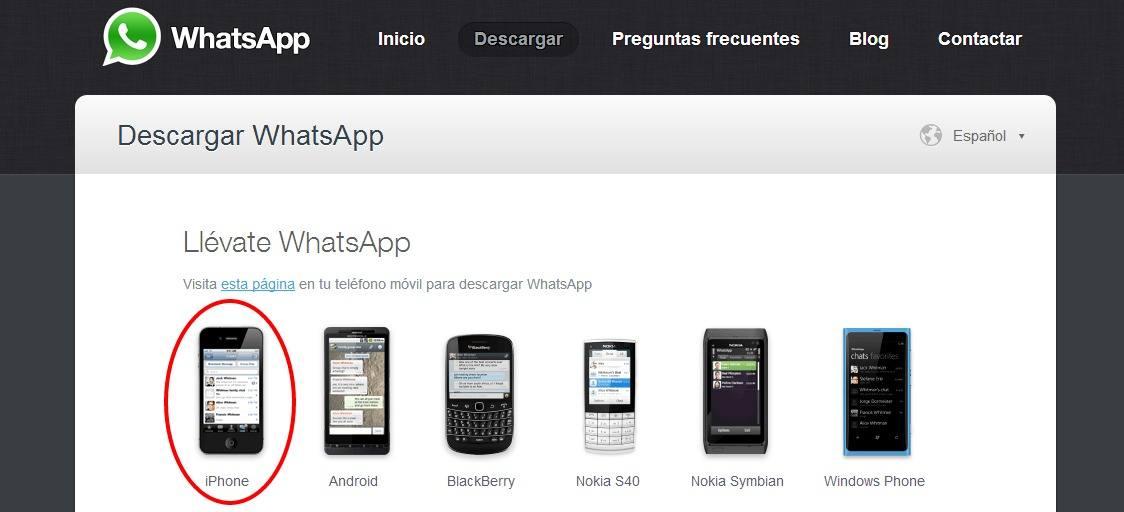 Descargar WhatsApp gratis para Windows Phone