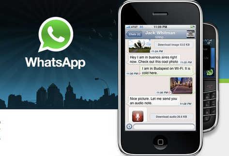 WhatsApp dispositivos moviles