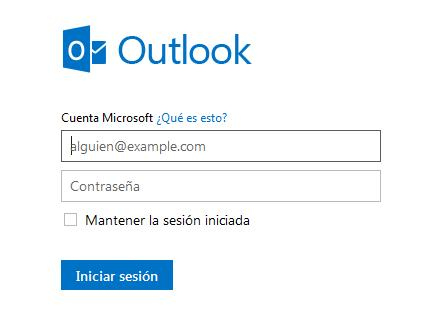 Hotmail correo iniciar sesión en Outlook.com