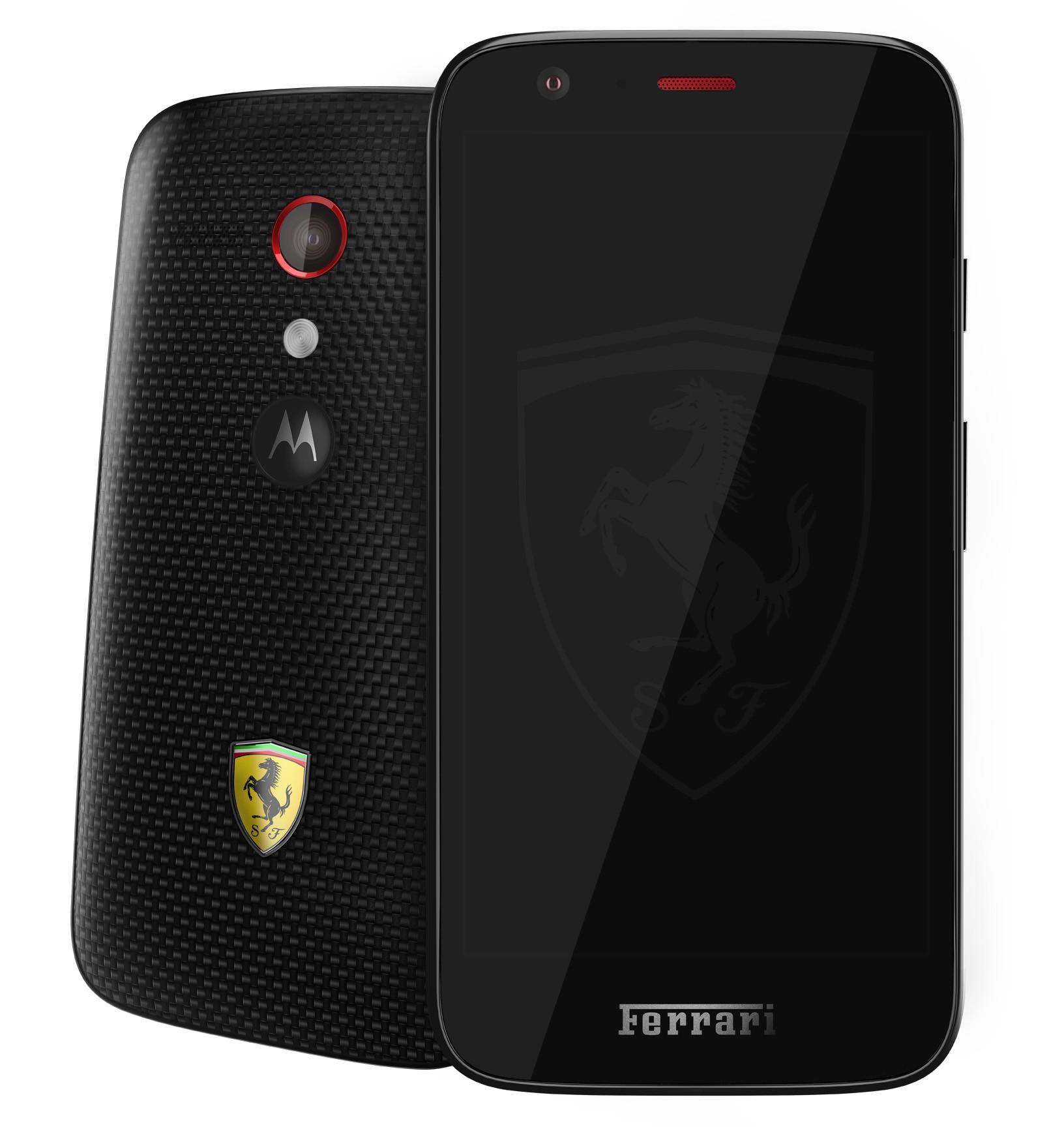 Moto G Ferrari