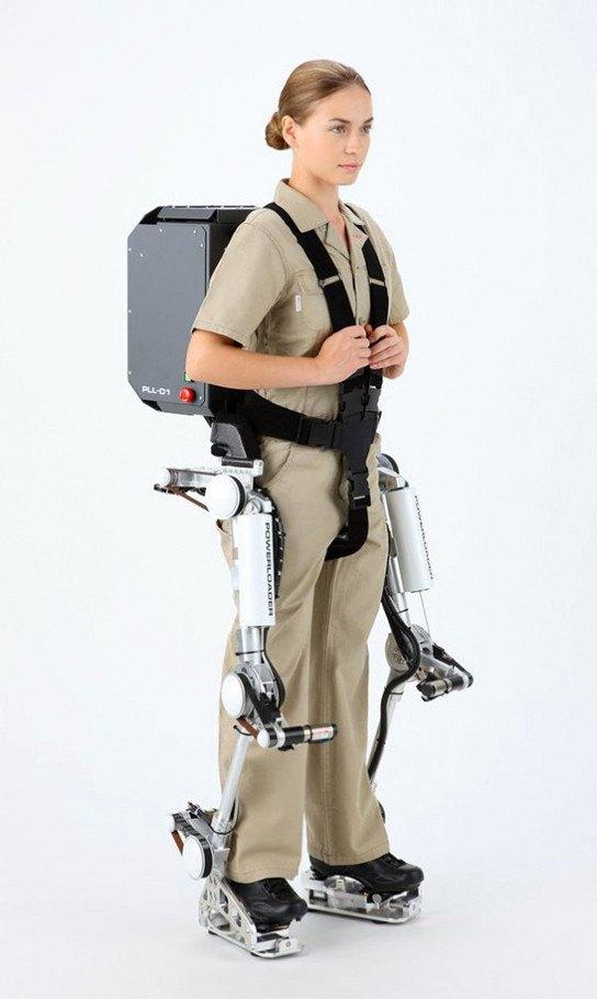 El exoesqueleto de Panasonic