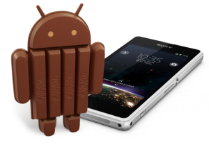 Android KitKat Sony Z1 Compact