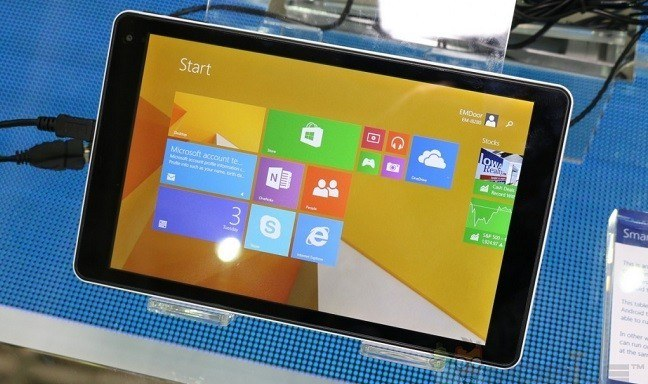 Tabletas con Windows 8