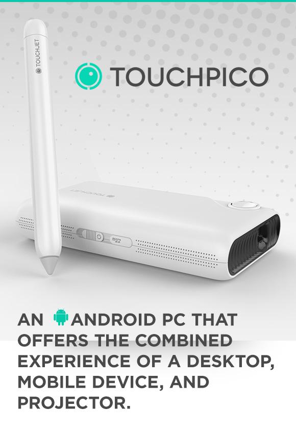 TouchPico, un proyector inteligente aliado de Android