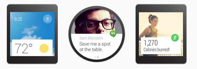 ¿Qué posibilidades hay con Android Wear?