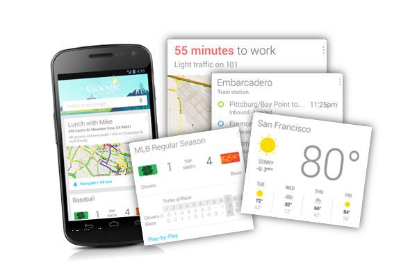 Google Now ha mejorado los recordatorios en caso de alerta al usuario sobre tareas,  (articulo 1)