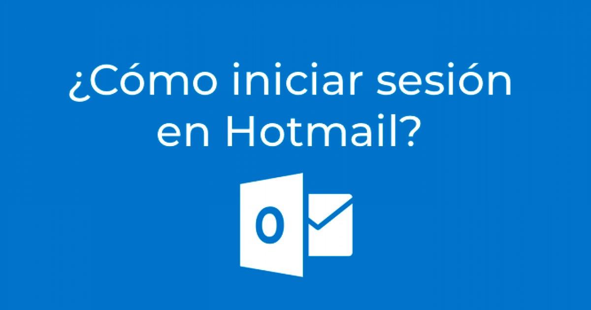 Hotmail iniciar sesion