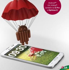 LG actualiza Smartphone