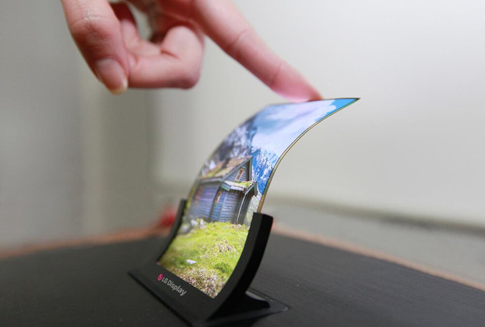 LG y Samsung, desarrollando smartphones de pantalla flexible