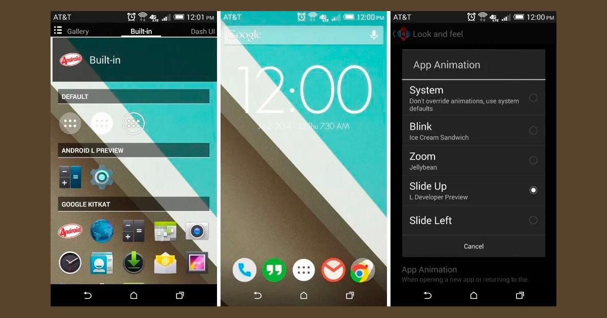 Nova Launcher busca asemejar la apariencia de Android L