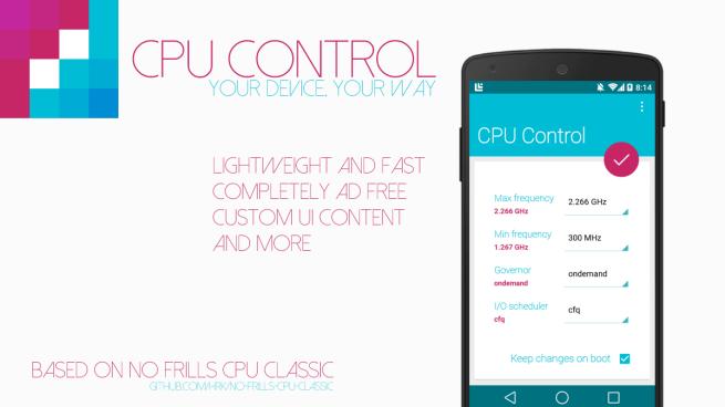 Utiliza CPU Control para administrar la frecuencia de tu CPU