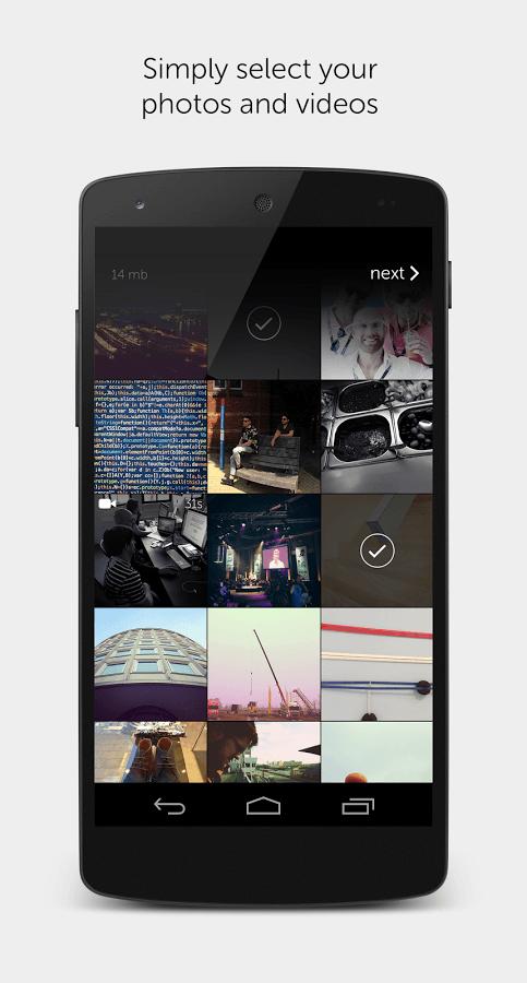 WeTransfer: enviar hasta 10 GB desde un Android