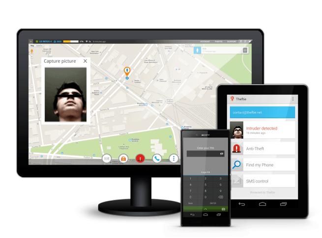 Theftie: La App antirrobo con respaldo de datos en Google Drive