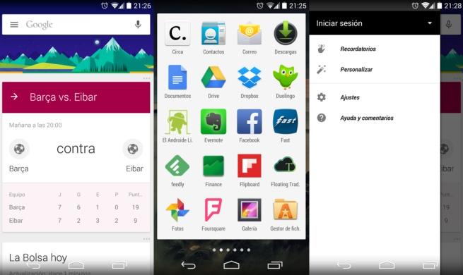 Google Search - Estrena nueva cara en su app con Material Design