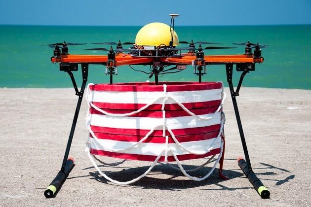 drone salvavidas