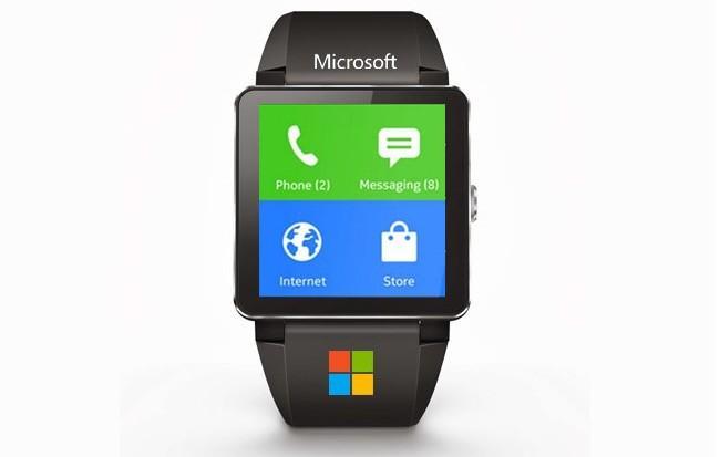reloj inteligente microsoft