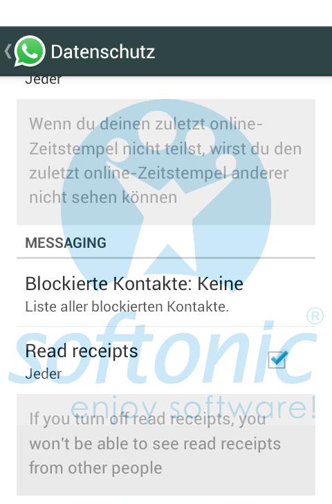 Es posible que Whatsapp permita desactivar el doble check azul