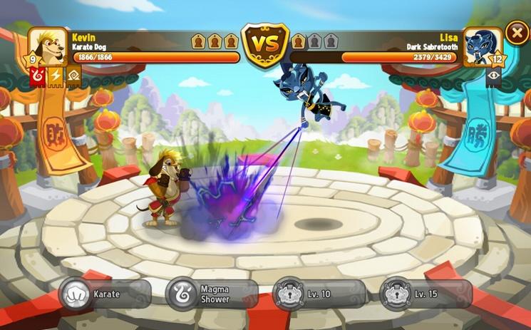 Kung Fu Pets para Android
