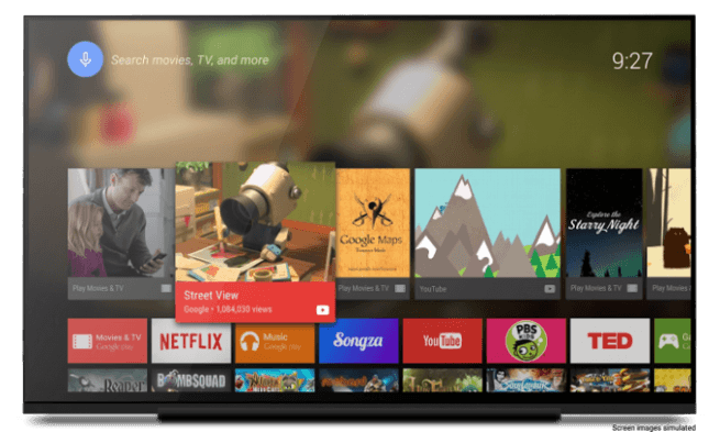 Ya son aceptadas las app de Android TV dentro de la Google Play