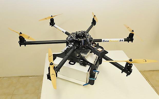 drones correo frances