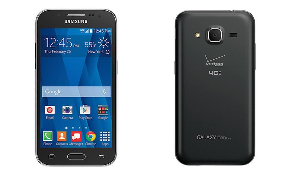 Samsung Galaxy Core Prime estará en línea en Verizon pronto