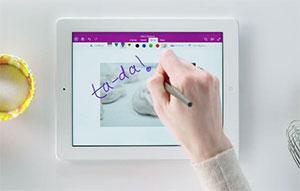 Microsoft lanza actualización de OneNote para iPad con OCR