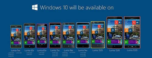 Primera version de Windows 10 para moviles ya disponible