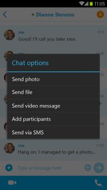 skype-enviar-mensaje