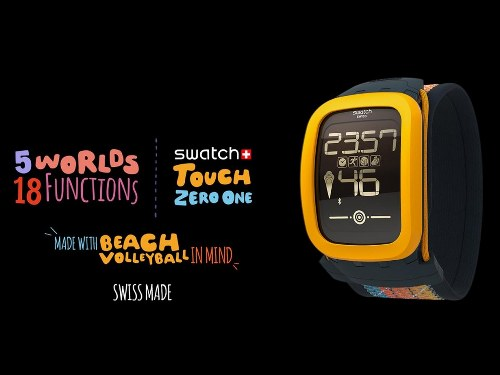 Swatch presenta su primer SmartWatch