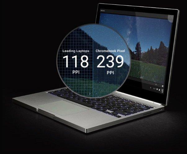 Google nos presentó su nueva Chromebook Pixel con USB Type-C