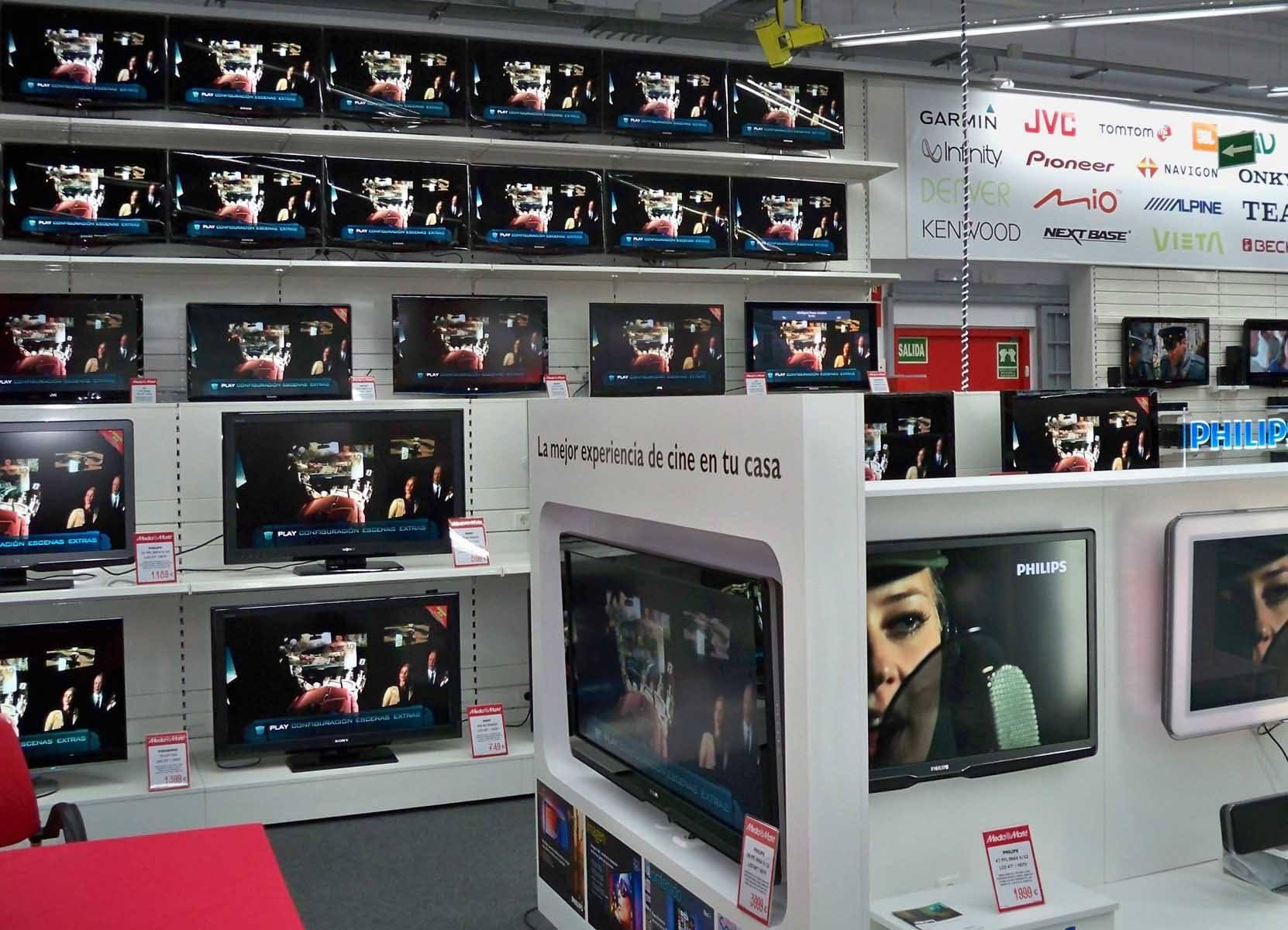 Variedad de televisores