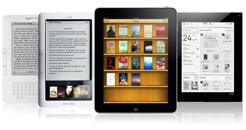 eReaders revolucionan el mercado de la literatura