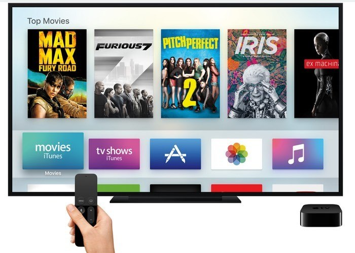 Aplicaciones Apple TV