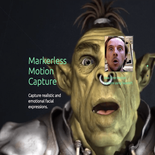 Faceshift, el programa de captura de movimientos