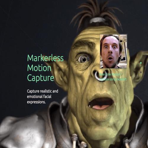 Faceshift, el programa de captura de movimientos