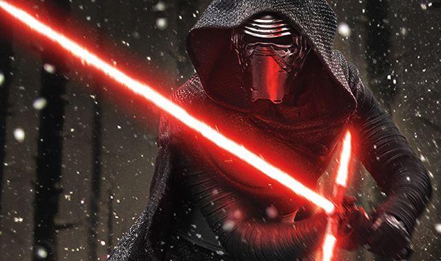 Kylo Ren lidera las fuerzas oscuras