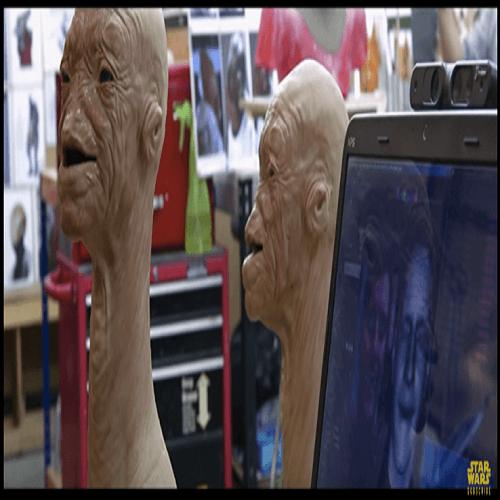 Star Wars ha usado Faceshift para humanizar a sus personajes