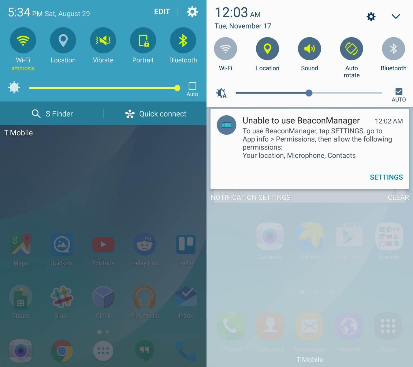 Touchwiz diferencia de interfaz antes-despues