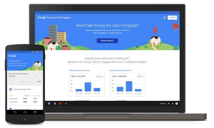 ahora Google se ha convertido en un agente de hipotecas